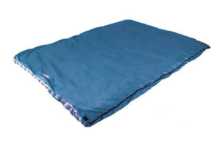 Спальный мешок Campack-Tent CAMP 200 (одеяло двухспальное) р-р 190 х 144см, правосторонняя молния, из одного спальника можно состегнуть 2 поменьше