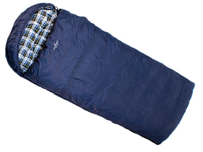 Спальный мешок Woodland IRBIS 400 L, левосторонняя молния36337Спальные мешки Irbis - это идеальное решение для любителей активного отдыха и кемпингов, которым требуется компактное и легкое снаряжение в сочетании с комфортом и наилучшим утеплением. Этот спальник предназначен для эксплуатации в условиях влажной и холодной погоды. Рассчитан на три сезона использования, что позволяет спать в комфорте даже при сильных заморозках. Технология простегивания Jointless позволяет не прошивать внешнюю ткань спального мешка, что значительно уменьшает потерю тепла и позволяет увеличить температуру внутри спальника на 2°С. Объемный утепляющий воротник предотвращает проникновение холодного воздуха. Благодаря двухсторонней молнии спальники могут превращаться в одеяло, а так же состегиваться между собой. Теплоизолирующая полоса вдоль молнии исключает потерю тепла. Характеристики: Наружный материал: 210T POLYESTER RIP-STOP W/R W/P. Внутренний материал: 100% COTTON FLANNEL. Утеплитель: 2х180g/m2 HOLLOW FIBER. Размер: 225 см х 90 см.