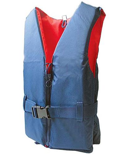 Norfin Жилет страховочный Norfin 50N, цвет: синий, красный, вес: 50-70 кг