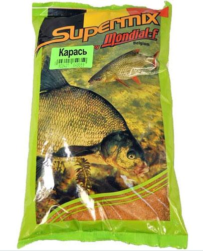 Прикормка Mondial-F Supermix: Карась, 1 кг49607Прикормка Mondial-F Supermix: Карась предназначена для ловли пресноводных рыб. Состоит из натуральных компонентов. Прикормки отличает оригинальная рецептура, обеспечивающая высокую эффективность при очень привлекательной цене, именно поэтому они столь популярны в Европе. Ассортимент представлен тремя сериями, включающими в себя как универсальные, так и специализированные прикормки. Состав: печенья, бисквиты, зерна, минералы, натуральные ароматы.