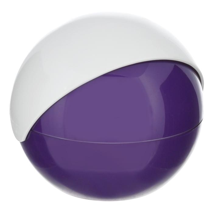 Сахарница Apollo Menthe, цвет: белый, фиолетовыйMNT-02Сахарница Apollo Menthe с подвижной крышкой изготовлена из пищевого пластика. Она имеет круглую форму и эргономичный дизайн. Такая сахарница придется по вкусу и ценителям классики, и тем, кто предпочитает утонченность и изысканность. Сахарница послужит не только приятным подарком, но и практичным сувениром.
