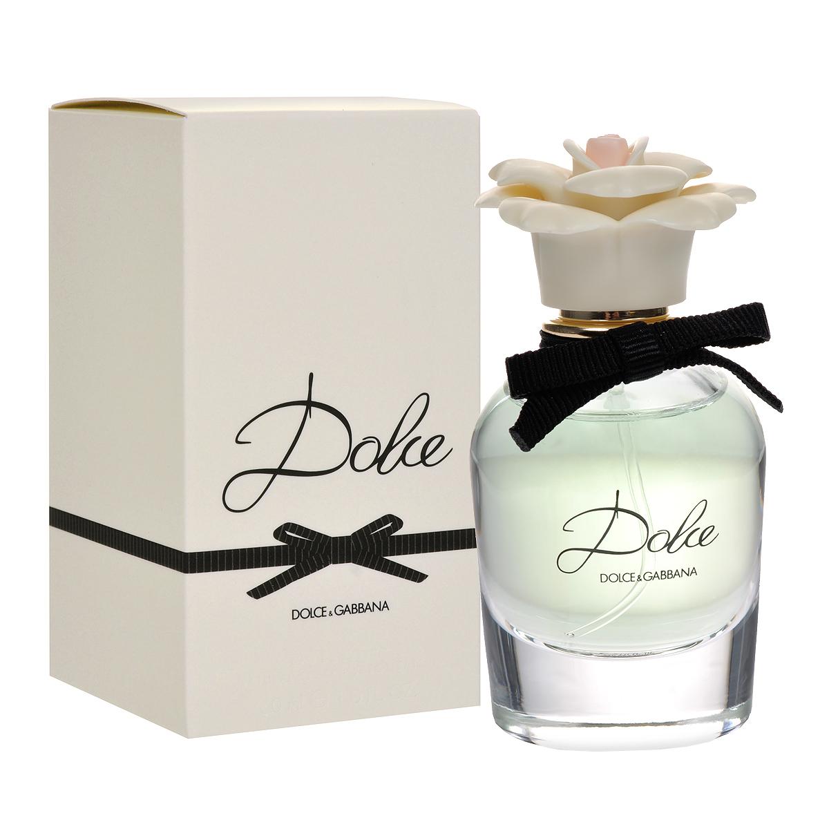 Dolce&Gabbana Парфюмерная вода Dolce, женская, 30 мл0737052746159Нежный и элегантный Dolce&Gabbana Dolce подобен изысканному и неповторимому дизайнерскому наряду, в котором каждая деталь, каждая мелочь точно выверены и идеально выполнены. В композиции аромата каждая нота звучит ярко и красиво, и вместе с тем не нарушает общей гармонии, безупречно сочетаясь с окружающими ее аккордами. Dolce&Gabbana Dolce - гимн женственности и изящности. Покоряющий плавностью своих линий флакон сделан из прозрачного стекла и увенчан стильным «марципановым цветком» - визитной карточкой лучших сицилийских кондитеров. Аромат открывается свежестью нероли и цветов папайи. Средние ноты состоят из белых амариллиса, нарцисса и лилии. База обволакивает кашемиром и мускусом, дающими ощущение мягкости. Классификация аромата: цветочный. Товар сертифицирован.