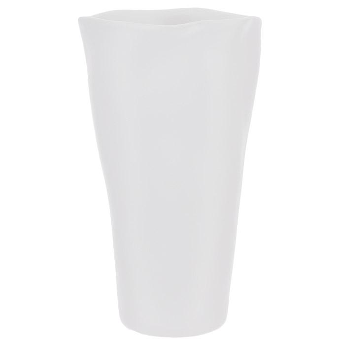 Ваза декоративная, цвет: белый, высота 24 см. Ф21-1779Ф21-1779Элегантная ваза выполнена из высококачественной керамики белого цвета. Ваза придется по вкусу и ценителям классики, и тем, кто предпочитает утонченность и изящность. Вы можете поставить вазу в любом месте, где она будет удачно смотреться и радовать глаз. Такая ваза подойдет и для цветов, и для декора интерьера. Кроме того - это отличный вариант подарка для ваших близких и друзей. Характеристики: Материал: керамика. Цвет: белый. Высота вазы: 24 см. Диаметр вазы (по верхнему краю): 13 см. Диаметр основания: 8 см.