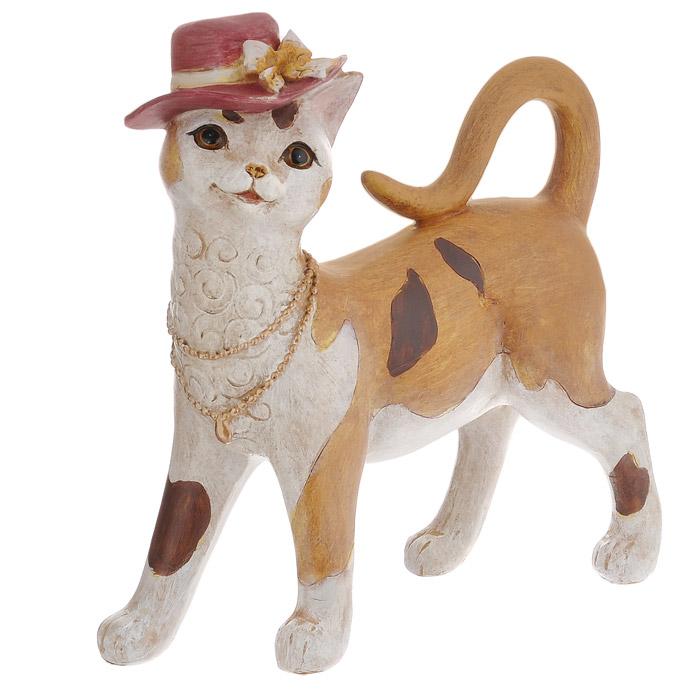 Декоративная статуэтка Феникс-презент Кошка. 3385133851Декоративная статуэтка, выполненная из полирезины в виде кошечки, будет вас радовать и достойно украсит интерьер. Вы можете поставить фигурку в любом месте, где оно будет удачно смотреться и радовать глаз.