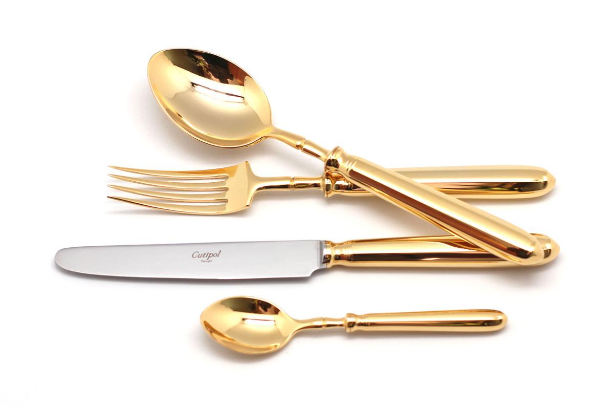 Набор столовых приборов Cutipol Mithos Gold, 72 предмета9151-729151-72 MITHOS GOLD Набор 72 пр.