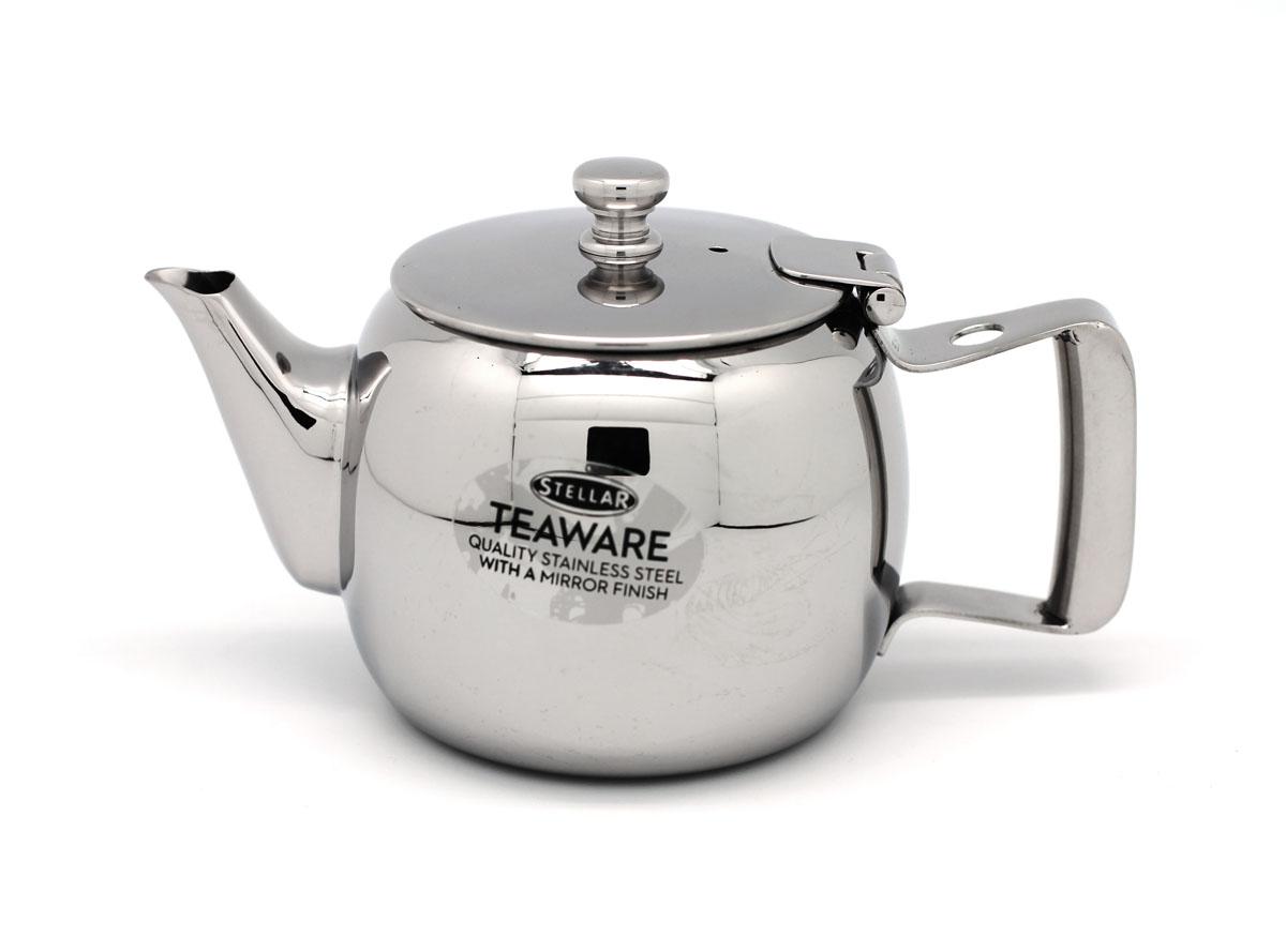 "Чайник заварочный Silampos ""Stellar"", цвет: серебристый, 400 мл"