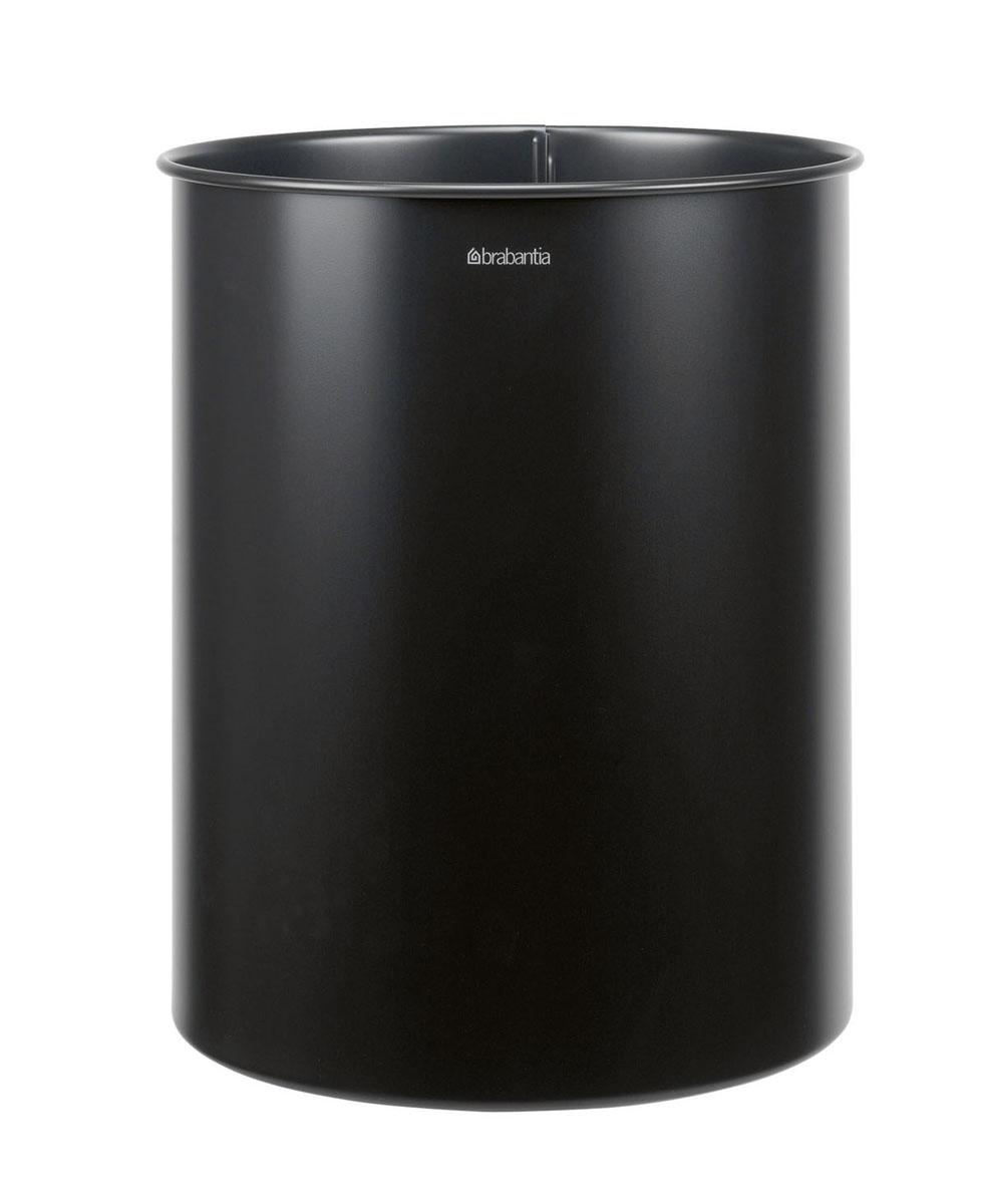 Корзина для бумаг Brabantia, цвет: матовый черный, 15 л181443Ищете простую, но в то же время элегантную корзину для бумаг? Данная модель на 15 литров - идеальный вариант для любого помещения, будь то спальня, гостиная или офис. Компактный размер позволяет установить корзину в любом уголке - эстетично и не бросается в глаза; Универсальность - подходит как для домашнего использования, так и для использования в офисе; Долговечность - корзина изготовлена из коррозионно-стойких материалов; Удобная очистка; Корпус изготовлен из высококачественной цветной или оцинкованной стали; Перфорация - элегантный дизайн и дополнительная легкость; 10-летняя гарантия Brabantia.