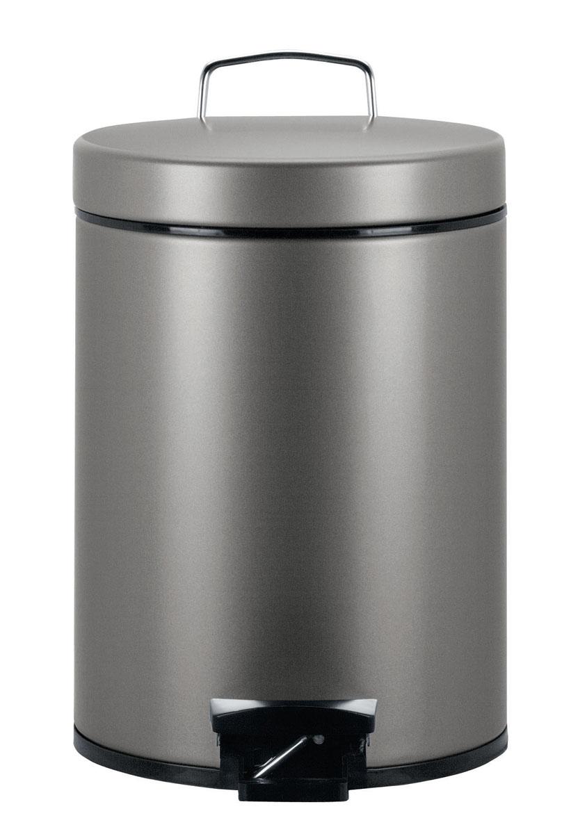 Бак мусорный Brabantia Классический, с педалью, цвет: платиновый, 5 л288241Идеальное решение для ванной комнаты и туалета! Предотвращает распространение запахов - прочная не пропускающая запахи металлическая крышка; Плавное и бесшумное открывание/закрывание крышки; Надежный педальный механизм, высококачественные коррозионно-стойкие материалы; Удобная очистка – прочное съемное внутреннее ведро из пластика; Бак удобно перемещать - прочная ручка для переноски; Отличная устойчивость даже на мокром и скользком полу – противоскользящее основание; Предохранение пола от повреждений - пластиковый защитный обод; Всегда опрятный вид - идеально подходящие по размеру мешки для мусора с завязками (размер B); 10-летняя гарантия Brabantia.