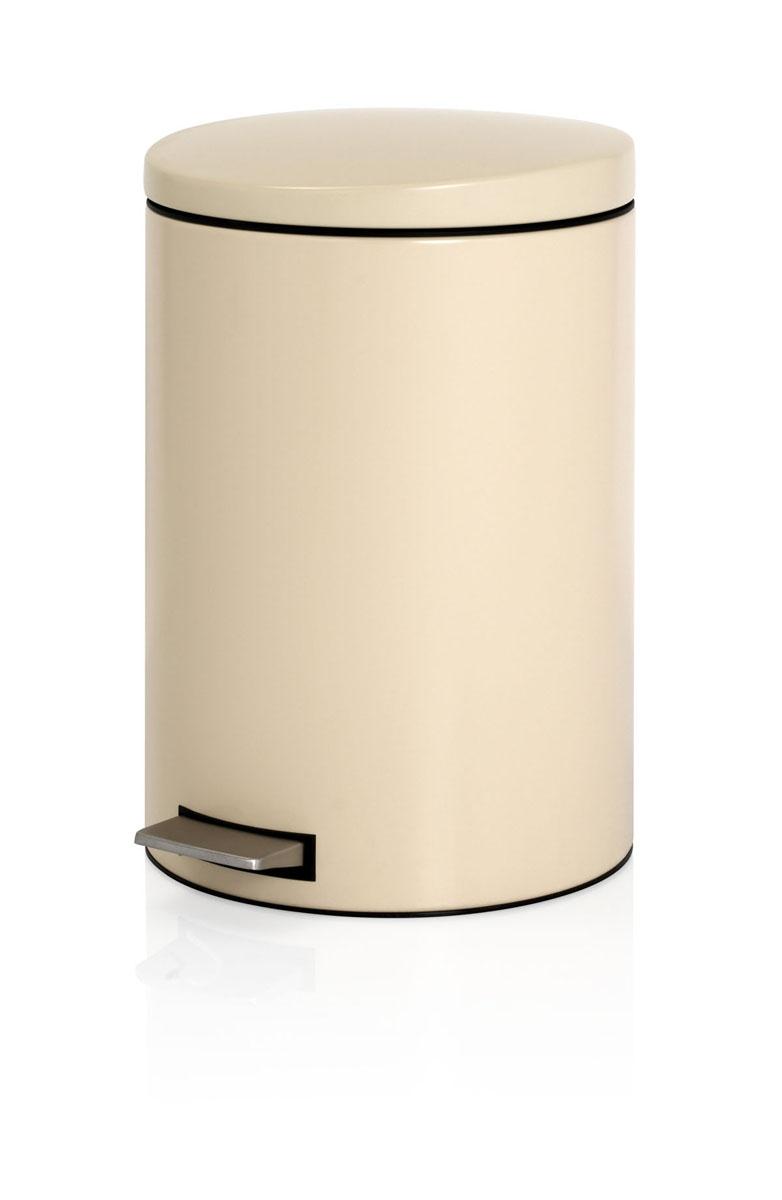 Бак мусорный Brabantia, с педалью, цвет: бежевый, 20 л478284Мусорный бак Brabantia выполнен из антикоррозийной матовой стали с защитой от отпечатков пальцев. Особенности мусорного бака Brabantia: пластиковый защитный ободок (не царапает пол); нескользящая основа; внутренняя корзина из пластика со специальными вентиляционными отверстиями для предотвращения образования вакуума при извлечении полного пакета; прочная ручка на пластиковой корзине; крышка закрывается бесшумно, плотно прилегает, предотвращая распространение запаха; отдельная емкость из пластика для пищевых отходов; фирменные мусорные мешки в комплекте. Диаметр бака: 29 см. Высота бака: 44,5 см. Высота бака с открытой крышкой: 73 см. Длина бака с учетом педали: 38 см.