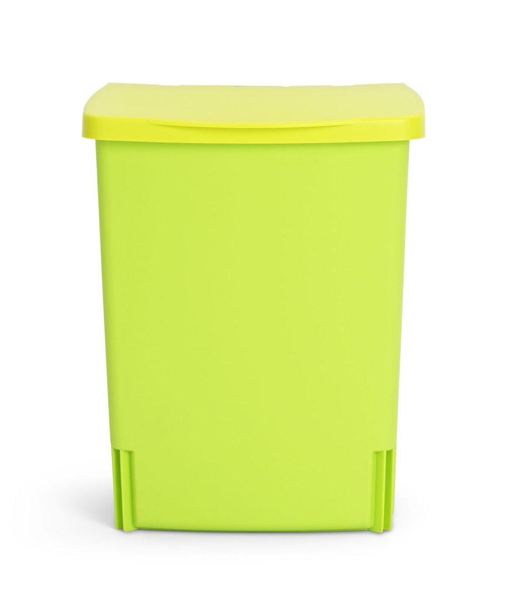 Ведро для мусора Brabantia, встраиваемое, цвет: салатовый, 10 л482229Встраиваемое ведро для мусора Brabantia, выполненное из прочного пластика, обеспечит долгий срок службы и легкую чистку. Ведро поможет вам держать мелкий мусор в порядке и предотвратит распространение неприятного запаха. Откидная пластиковая крышка открывается и закрывается бесшумно и плотно прилегает к ведру. Ведро предназначено для подвешивания на стену (крепежные элементы входят в комплект). Размер ведра с учетом крышки (Д х Ш х В): 24 см х 20 см х 32 см.