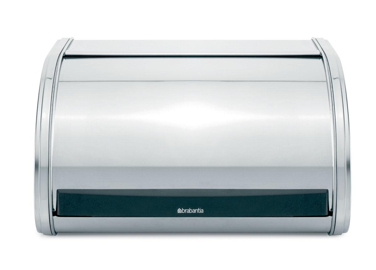 Хлебница Brabantia, 34,5 см х 27,5 см х 18 см. 339585339585Хлебница Brabantia изготовлена из высококачественной нержавеющей стали. Изделие оснащено откидной крышкой с зеркальной полировкой и пластиковой вставкой. Хлебница предназначена для хранения хлеба, чипсов, кексов и других хлебобулочных изделий. В ней продукты долго сохраняют привлекательный внешний вид, остаются свежими и хрустящими. Крышка плавно открывается и герметично закрывается. Вместительность, функциональность и стильный дизайн позволят хлебнице стать не только незаменимым аксессуаром на кухне, но и предметом украшения интерьера. В ней хлеб всегда останется свежим и вкусным.