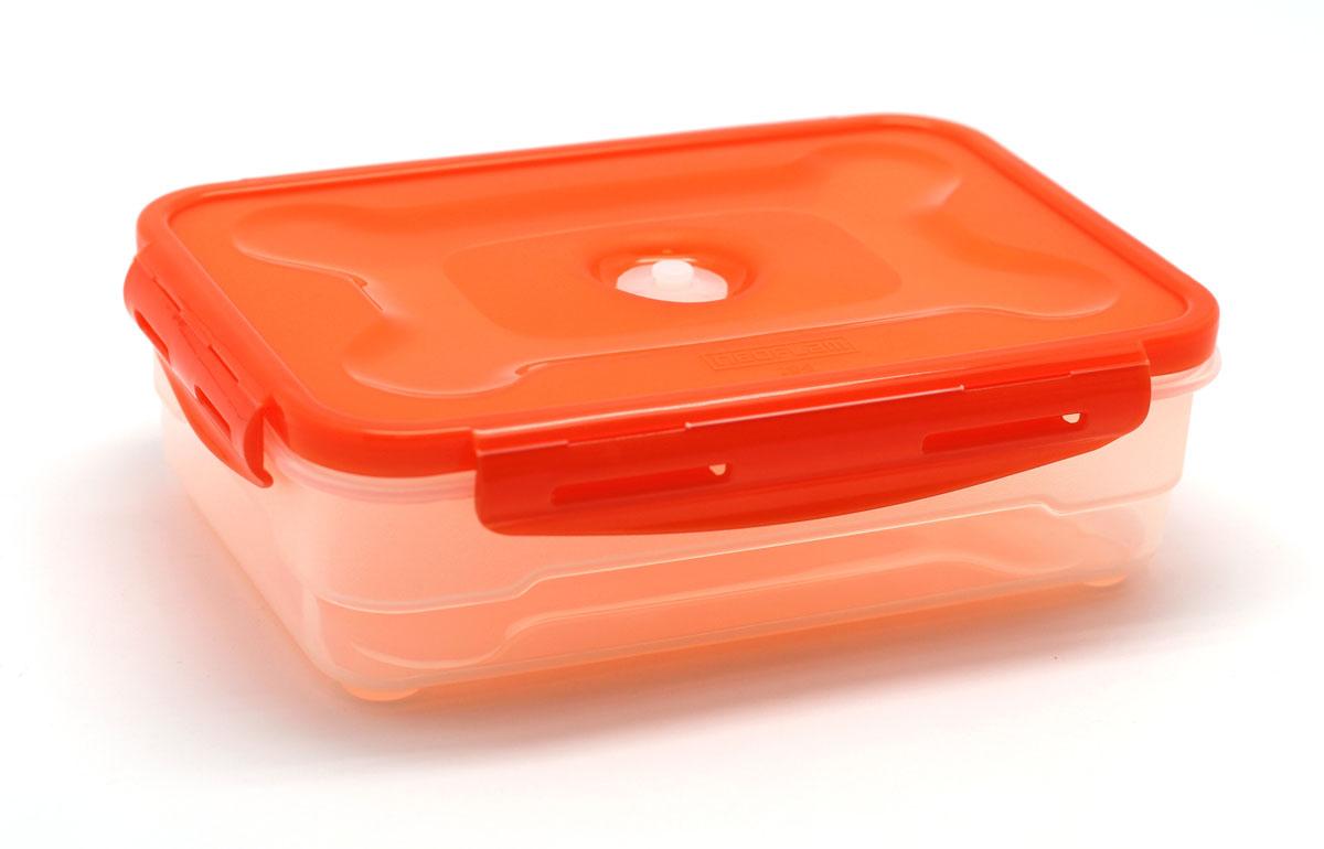 Контейнер для продуктов Atlantis, 1,2 лVS2R-31-OVS2R-31-O Лоток(контейнер) для продуктов 1,2л Характеристики: Материал: пластик. Размер: 160*230*110мм. Артикул: VS2R-31-O.