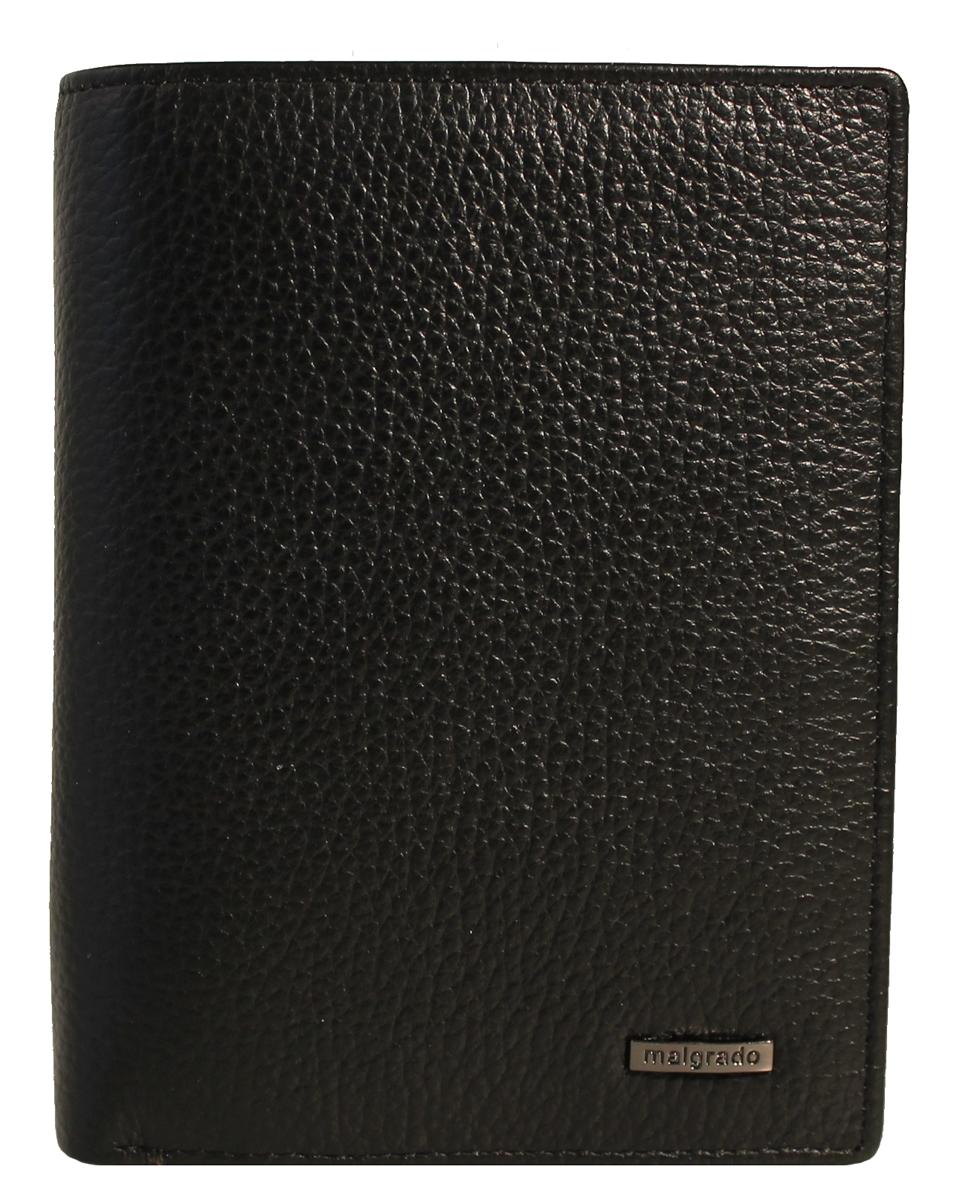 Портмоне Malgrado, цвет: черный. 50005-3-5001D Black50005-3-5001D BlackПортмоне Malgrado выполнено из высококачественной натуральной кожи черного цвета с логотипом фирмы. Портмоне имеет два кармана для купюр, один из которых на молнии, двенадцать отделений для визиток, один скрытый кармашек, два прозрачных и кармашек для мелочи на кнопке. Это элегантное портмоне непременно подойдет к вашему образу и порадует простотой, стилем и функциональностью. Портмоне упаковано в коробку из плотного картона с логотипом фирмы. Характеристики: Материал: натуральная кожа, текстиль, металл. Размер портмоне в сложенном виде: 13 см х 9,5 см х 2 см.