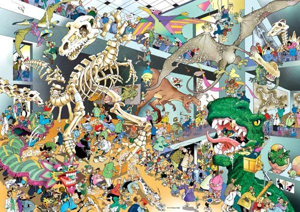 Динозавры. Пазл, 1000 элементов29409Пазл Динозавры без сомнения придется вам по душе, и вы получите массу удовольствия от процесса собирания картины. Пазлы - прекрасное антистрессовое средство для взрослых и замечательная развивающая игра для детей. Собирание пазла развивает у ребенка мелкую моторику рук, тренирует наблюдательность, логическое мышление, знакомит с окружающим миром, с цветом и разнообразными формами, учит усидчивости и терпению, аккуратности и вниманию. Собирание пазла - прекрасное времяпрепровождение для всей семьи.