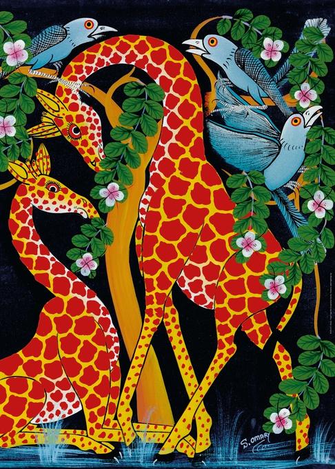 Жирафы-единение. Пазл, 1000 элементов29611Пазл Жирафы-единение без сомнения придется вам по душе, и вы получите массу удовольствия от процесса собирания картины. Пазлы - прекрасное антистрессовое средство для взрослых и замечательная развивающая игра для детей. Собирание пазла развивает у ребенка мелкую моторику рук, тренирует наблюдательность, логическое мышление, знакомит с окружающим миром, с цветом и разнообразными формами, учит усидчивости и терпению, аккуратности и вниманию. Собирание пазла - прекрасное времяпрепровождение для всей семьи.