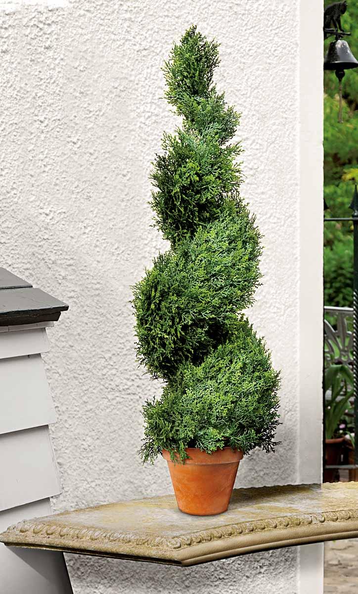 Растение искусственное Gardman Swirl Border. Кипарис, высота 80 см02814Искусственное растение Gardman Swirl Border, выполненное из пластика в виде кипариса в горшке, великолепно украсит интерьер офиса, дома или дачи. Такое растение устойчиво к воздействию солнечных лучей и погодных условий. Идеально для декора помещений на свежем воздухе (веранды, балконы и т.д.). Не намокает и не выцветает. Искусственное растение Gardman Swirl Border оригинально украсит ваш дом или сад и станет замечательным дизайнерским решением.