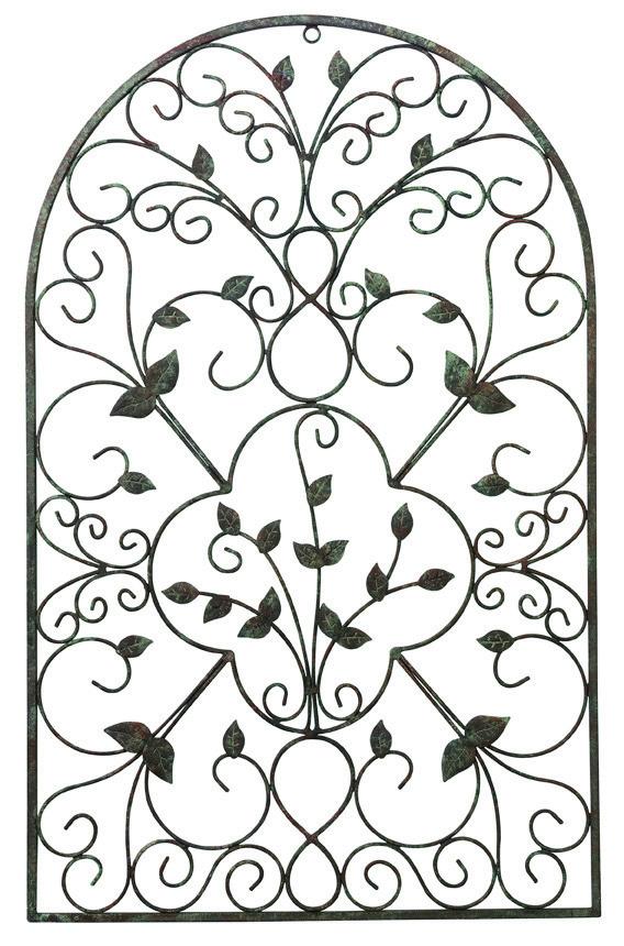Декор настенный Испанская арка, 78 см х 49 см. 1732417324Настенный декор изготовлен из стали в виде арки с эффектом старины. Арка сварена и обработана вручную. В верхней части имеется небольшое отверстие, с помощью которого вы можете повесить ее на стену как картину. Также арка прекрасно будет смотреться в саду. Настенный декор Испанская арка оригинально украсит ваш дом или сад и станет замечательным дизайнерским решением.