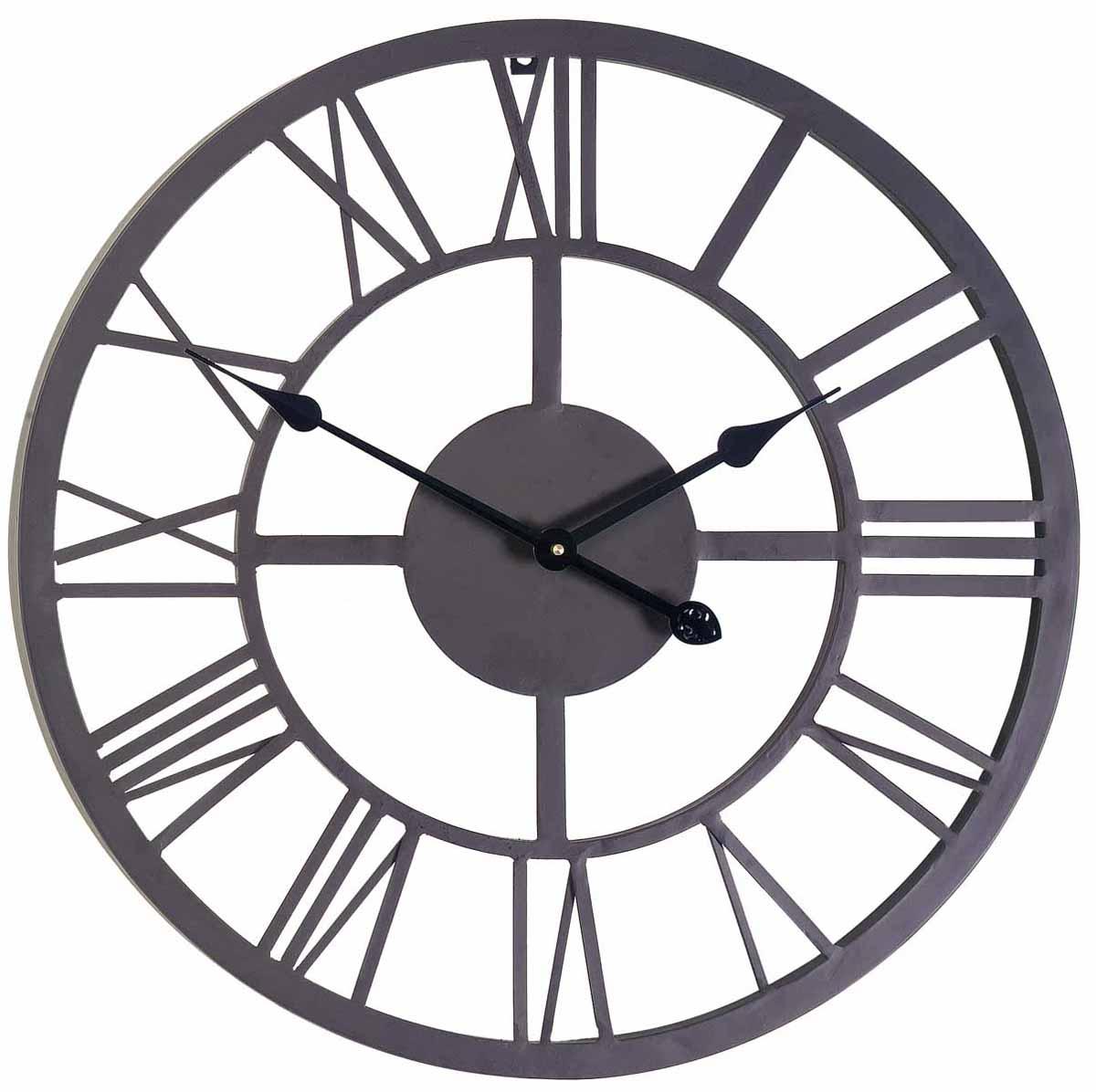 Часы настенные Gardman Римские, цвет: черный, диаметр 56 см. 1717617176Кварцевые настенные часы Gardman Римские перфорированной конструкции выполнены из металла, окрашенного в черный цвет. Такие часы отлично украсят интерьер гостиной, офиса или сада. Подходят для уличного декора. Часы оформлены римскими цифрами и имеют две стрелки - часовую и минутную. Часы Gardman Римские станут замечательным дизайнерским решением для декора сада, дачи или гостиной дома. Характеристики: Материал: металл. Цвет: черный. Диаметр часов: 56 см. Рекомендуется докупить одну батарейку типа АА (в комплект не входит). Товары для садоводства от Gardman - это вещи, сделанные с любовью, с истинно английской практичностью, основанной на глубоких традициях садоводства Великобритании. Эти товары широко известны садоводам Европы, США, Канады и Японии. Демократичные цены и продуманный ассортимент Gardman завоевал признательность и российского покупателя, достойного хороших, качественных вещей. В ассортименте Gardman...
