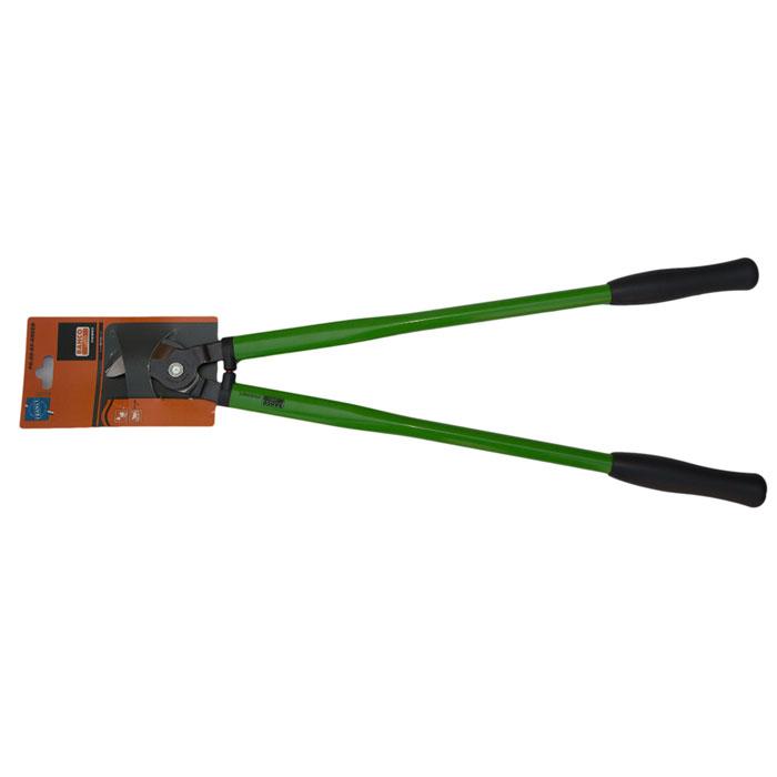 Сучкорез Bahco, цвет: зеленый, длина 65 см. PG-28-65-GREENPG-28-65-GREENСучкорез Bahco с крепкой режущей головкой предназначен для кустарников и маленьких деревьев. Стальные рукоятки с удобными пластиковыми захватами. Режущая головка из закаленной и отпущенной высокоуглеродистой стали.