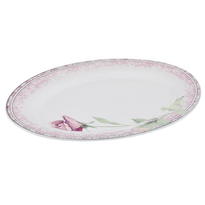 Блюдо Роза овальное, 30 х 21 смPK-OP-12-11246ALОвальное блюдо Роза, изготовленное из фарфора, станет достойным украшением вашего стола. Блюдо выполнено в бело-розовой гамме с нанесением цветочного рисунка. Такое блюдо можно преподнести в качестве оригинального подарка или сувенира.