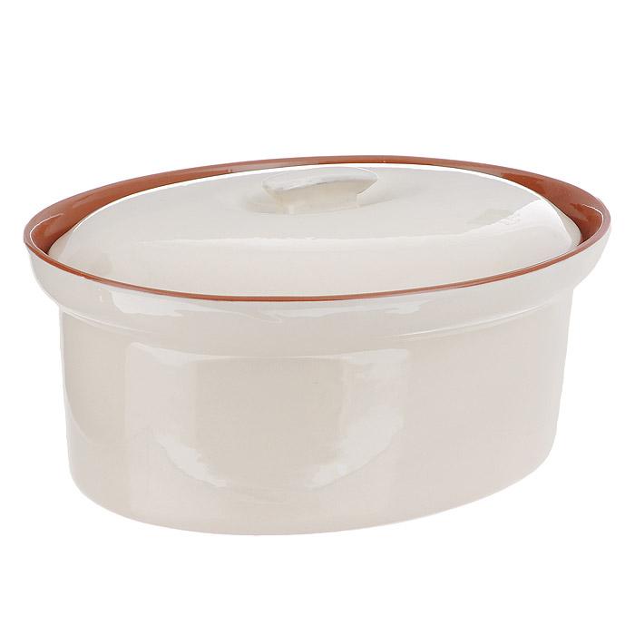 Кастрюля Сардиния, с крышкой. TLY083-1-BT-ALTLY083-1-BT-ALКастрюля Сардиния, изготовлен из жаропрочной керамики и покрыт высококачественной глазурью. Преимущества керамической посуды: отсутствие выделений химических примесей; равномерный нагрев; долгое сохранение температуры; сохранение витаминов и других ценных питательных веществ. Кастрюля Сардиния в шоколадно-сливочных тонах станет отличным подарком для ваших друзей и близких. Характеристики: Материал: керамика. Размер кастрюли: 25 см х 20 см. Высота кастрюли (без крышки): 9,5 см. Изготовитель: Китай.