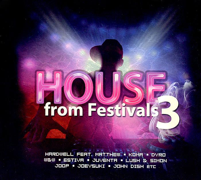 House From Festivals 3 (3 CD) 2014 3 Audio CD