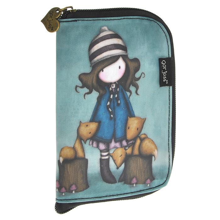 Складывающаяся сумка для покупок The Foxes, цвет: зеленый. 00121150012115Складывающаяся сумка для покупок с милой девочкой Gordjuss непременно порадует вас или станет прекрасным подарком. Сумка складывается в симпатичный чехольчик на молнии, сама сумка выполнена из текстиля серого цвета с орнаментом и имеет две удобные ручки. Сумка очень удобна в использовании - ее легко раскладывать и складывать.