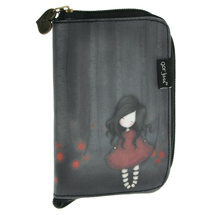 Складывающаяся сумка для покупок Poppy Wood, цвет: коричневый. 00121170012117Складывающаяся сумка для покупок с милой девочкой Gordjuss непременно порадует вас или станет прекрасным подарком. Сумка складывается в симпатичный чехольчик на молнии, сама сумка выполнена из текстиля коричневого цвета с орнаментом и имеет две удобные ручки. Сумка очень удобна в использовании - ее легко раскладывать и складывать.