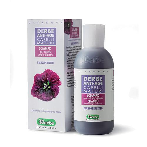 Derbe Шампунь с мальвой для седых волос, 200 млA931477640Антивозрастной шампунь для эффективного очищения и ухода за седыми волосами. Нейтрализует неприятную желтизну, связанную с наличием пигментных маркеров и компенсирует сухость зрелых волос. Эффекты: обеспечивает очищение кожи, не нарушая гидролипидную мантию и не вызывая раздражение. Очищает и увлажняет кожу головы, придает волосам здоровый блеск и чистоту. При регулярном использовании, решает типичные проблемы серых или белых волос: нейтрализует неприятную желтизну, связанную с наличием пигментных маркеров. Рисовый протеин ухаживает, увлажняет, насыщает минералами, смягчает, защищает и выравнивает структуру кожи и волос. Протеины улучшают состояние волос, делая их послушными, мягкими и сияющими. Рисовые протеины - содержат комплекс увлажняющих компонентов, аминокислоты, провитамин В5, полисахариды. Увлажняют и питают кожу,оказывают увлажняющее, смягчающее, успокаивающее действие на кожу, обладают способностью «ремонта» структуры поврежденных волос,...