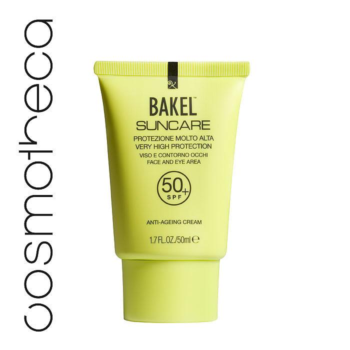 Bakel Крем Suncare для кожи лица и области вокруг глаз, солнцезащитный, антивозрастной, SPF 50+, 50 мл