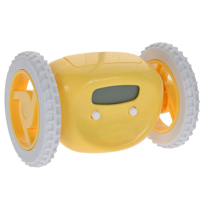 """Часы-будильник """"Инопланетянин"""", цвет: желтый. 93483"""