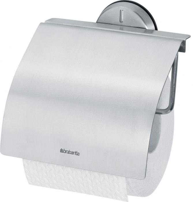Держатель для туалетной бумаги Brabantia Profile427626Держатель для туалетной бумаги Brabantia Profile выполнен из высококачественного коррозионностойкого материала - нержавеющей стали с матовой полировкой. Держатель просто монтировать и легко менять рулон. Фурнитура для монтажа входит в комплект. Такой держатель - идеальное решение для туалетной комнаты. Размер держателя (ДхШхВ): 14 см х 4,4 см х 14,5 см.