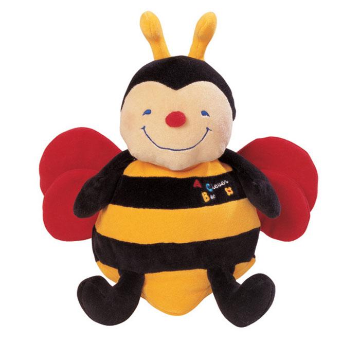 Мягкая озвученная игрушка Ks Kids ПчелаKA253Мягкая озвученная игрушка Ks Kids Пчела непременно поднимет настроение вашему малышу. Она выполнена в виде мягконабивной пчелки, которой нравится, когда ее обнимают и тискают. Если нажать игрушке на животик, пчелка начнет петь и хихикать от удовольствия. В крыльях игрушки спрятаны шуршалки, а ее тельце и ножки наполнены маленькими шариками, которые будут массировать пальчики ребенка, когда он играет с пчелкой. Необыкновенно приятная на ощупь игрушка станет первым другом вашего малыша. Игрушка работает от 3 батареек (входят в комплект).