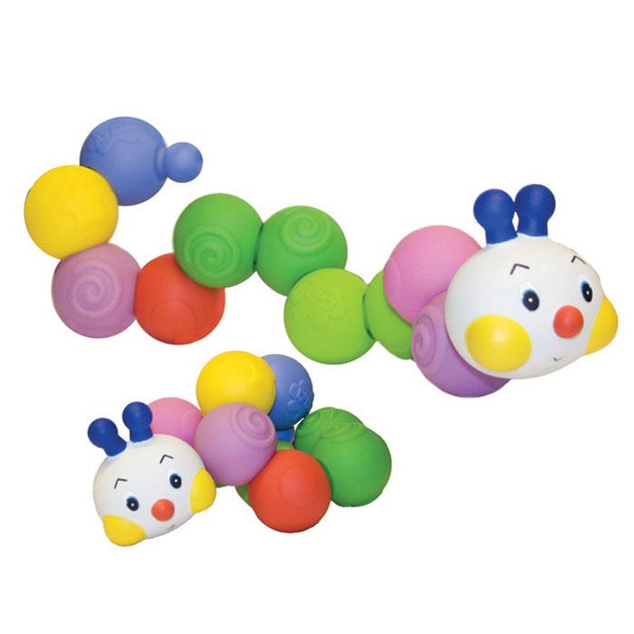 Сортер Ks Kids ГусеничкаKA610Сортер Ks Kids Гусеничка - развивающая игрушка предназначена для малышей от 6 месяцев и старше. Сортер представлен в виде разноцветной резиновой гусенички, которая состоит из круглых резиновых шариков рифленые по бокам. Гусеничку можно разбирать на части и снова собирать. Игрушка способствует развитию моторики рук ребенка, координации движений и двигательной активности малыша, знакомит с разными цветами. Также играя с данной игрушкой, ваш малыш будет развивать творческие способности, ведь из форм можно пофантазировать и собрать другие фигурки.