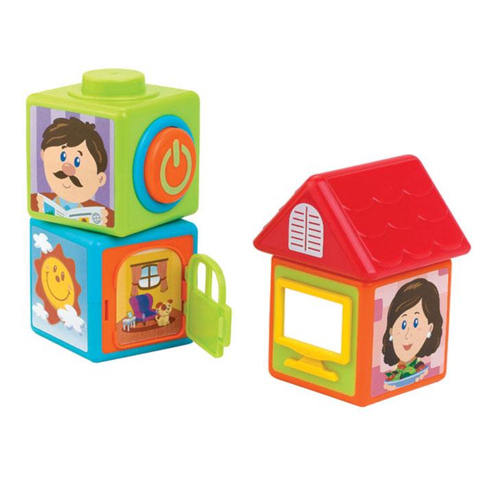Развивающая игрушка Happy Kid «История из кубиков»