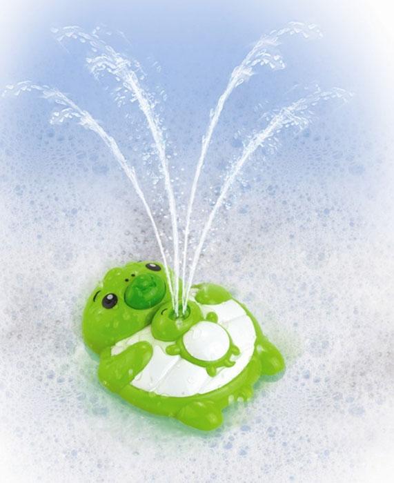Игрушка для ванной Черепашка4305Игрушка для купания малыша Черепашка при нажатии на нос выпускает фонтанчик воды. Игрушка держится на воде. Теперь купание приносит радость!