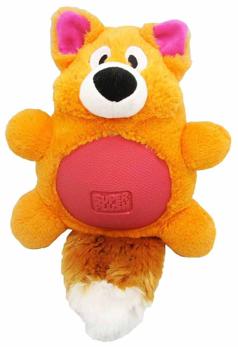 Игрушка плюшевая для собак R2P Pet Multi-tex. Лиса, 30 см. 11311131Игрушка плюшевая для собак R2P Pet Multi-tex. Лиса - это занимательная игрушка, изготовленная из плюша и резины. Игрушка умеет пищать, выполнена в виде забавного лисенка с прорезиненным животом. Наполнитель 100% полиэстер. Размер игрушки: 30 см х 20 см х 11 см.