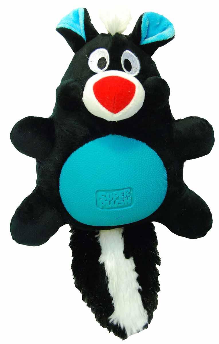 Игрушка плюшевая для собак R2P Pet Multi-tex. Скунс, 30 см. 11321132Игрушка плюшевая для собак R2P Pet Multi-tex. Скунс - это занимательная игрушка, изготовленная из плюша и резины. Игрушка умеет пищать, выполнена в виде забавного скунса с прорезиненным животиком. Наполнитель 100% полиэстер. Размер игрушки: 30 см х 19 см х 10 см.