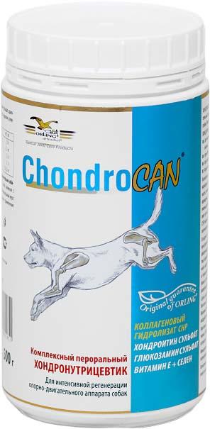Добавка к корму для собак Orling Хондрокан, 500 г. GLN-9GLN-9Добавка к корму для собак Orling Хондрокан подходит для собак всех возрастов и пород. Добавка обеспечивает интенсивное восстановление и комплексную терапию заболеваний опорно-двигательного аппарата. Высокое содержание глюкозамина и хондроитина сульфатов, коллагеновых пептидов CHP и антиоксидантов способствует интенсивному восстановлению и лечению суставов, связок, сухожилий и позвоночника собаки. Показания: - при деструктивных заболеваниях опорно-двигательного аппарата собак, сопровождающихся болевым синдромом и хромотой; - для интенсивного восстановления суставных хрящей, костей, связок, суставных капсул и сухожилий, в том числе после операций; - при травмах суставов, сухожилий и связок; - при дисплазии тазобедренных суставов; - профилактика старения ОДА. Способ применения: Применять внутрь. Предварительно обязательно растворить в воде! Дается ежедневно с привычным для собаки кормом. Минимальный курс применения 2 месяца. Повторять...