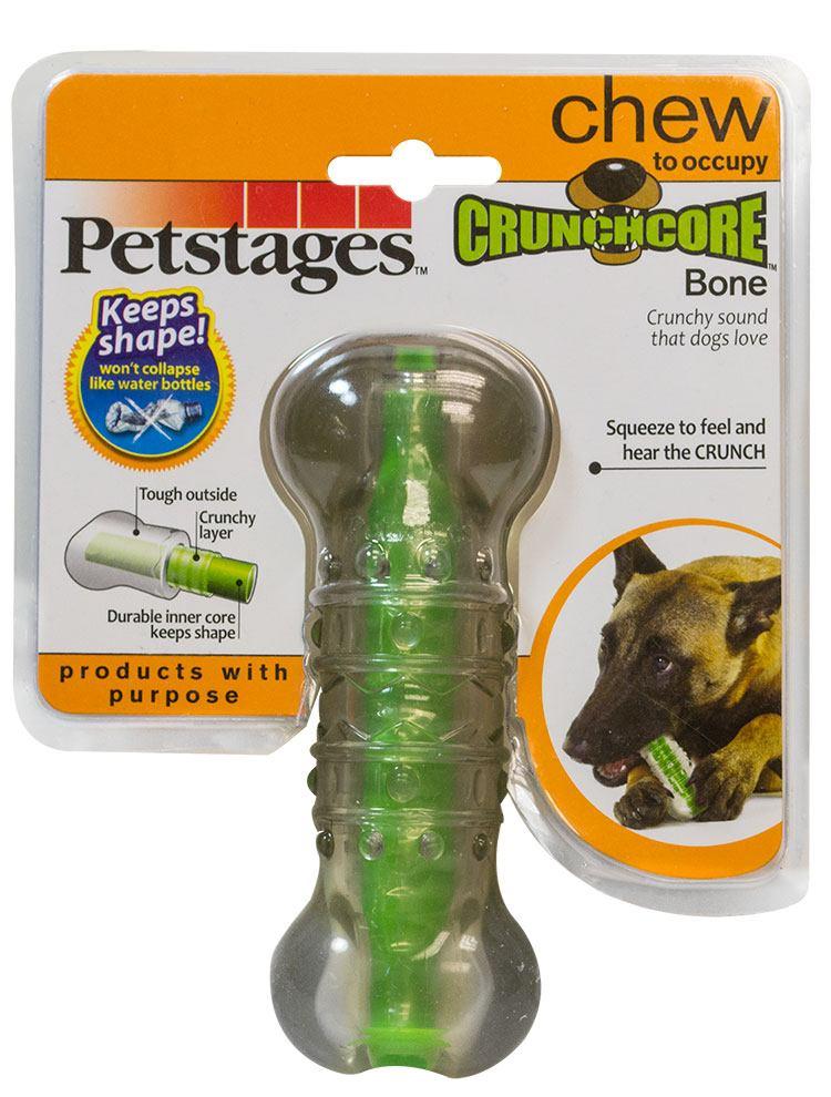 Игрушка для собак Petstages Хрустящая косточка, длина 14 см. 265YEX265YEXИгрушка для собак Petstages Хрустящая косточка предназначена для собак средних пород. Выполнена из прочной и гибкой синтетической резины. Внутри игрушки имеется сердечник, выполненный из резины и пластика. Пластик издает хрустящий звук в процессе игры, что привлекает собак. Характеристики: Материал: синтетическая резина, пластик. Длина игрушки: 14 см.