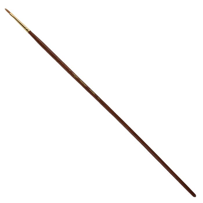 Кисть художественная Гамма Маэстро, колонок, №4424.004Колонок - промысловый зверек, относится к виду хищных млекопитающих из рода ласок и хорей. Его мех высоко ценится, а длинные волоски из хвоста идут на кисти для художников. Волос колонковых кистей тонкий, упругий имеет коническую форму. Пучок колонковой кисти состоит из волосков разной длины, которые при соприкосновении наполненной кисти с поверхностью, создают капиллярный поток. С кончика кисти краска стекает непрерывным потоком и с превосходной консистенцией. Они предназначены для художественных работ с акварелью, маслом, темперой, гуашью и акрилом.