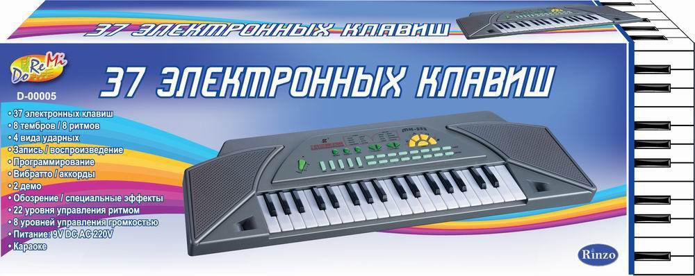 "Синтезатор ""DoReMi"", 37 клавиш. D-00005"
