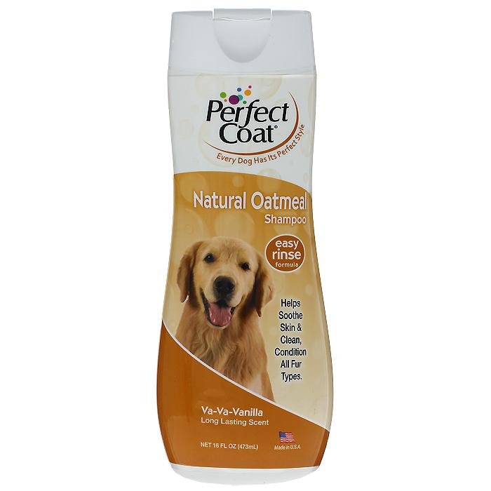Шампунь для собак 8 in 1 Perfect Coat, успокаивающий c овсяной мукой, 473 мл1006206Успокаивающий шампунь для собак 8 in 1 Perfect Coat успокаивает сухую, зудящую, раздраженную кожу. Шампунь содержит пантенол для восстановления кожи и придания шерсти мягкости и шелковистости. После купания шерсть надолго сохраняет приятный аромат французской ванили. Легко смываемая формула. Применение: Обильно нанесите на влажную шерсть. Распределите шампунь массирующими движениями, продвигаясь от головы к хвосту и избегая попадания шампуня в глаза. Полностью смойте водой. При необходимости повторить. Расчешите шерсть, чтобы она не спуталась, и высушите полотенцем. Состав: вода, комплекс мягких поверхностно-активных веществ, ополаскиватель, коллоид овсяной муки, ароматизатор, экстракт ромашки, провитамин В, консерванты, соль. Товар сертифицирован.