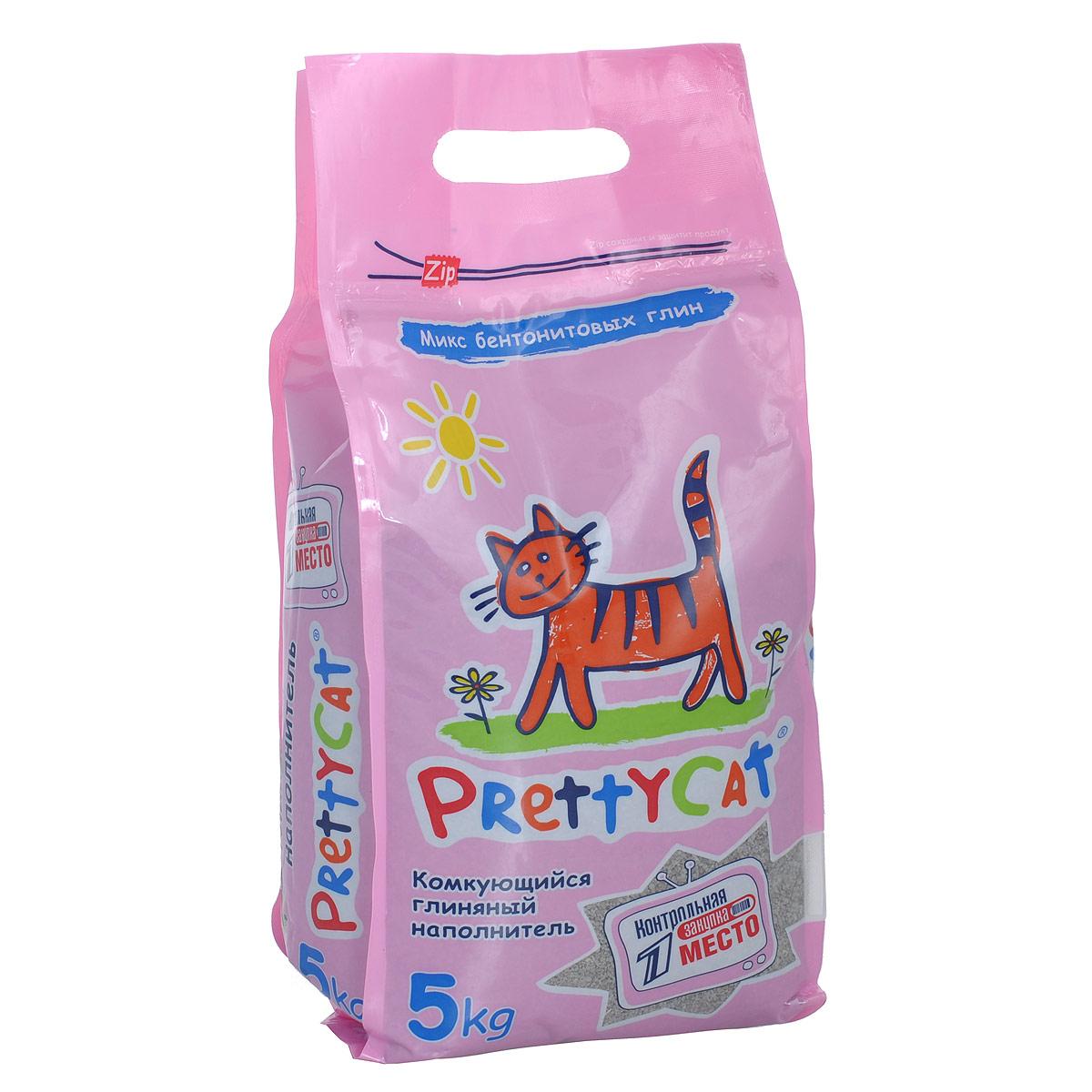 Наполнитель для кошачьих туалетов PrettyCat Euro Mix, комкующийся, 5 кг. 620291620086Наполнитель для кошачьих туалетов PrettyCat Euro Mix - это 100% натуральный комкующийся наполнитель. Изготовлен из запатентованной смеси бентонитовых глин двух лучших месторождений европейского качества. Идеально впитывает влагу, прекрасно комкается в идеально ровные шарики. Уничтожает запахи и обеспечивает двойное обеспыливание. Не содержит ароматизаторов и пыли. Антибактериален. Небольшой размер гранул идеально подходит для котят и их нежных лапок.