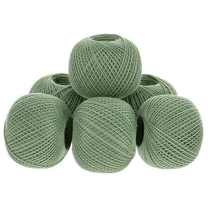 Нитки вязальные Ирис, хлопчатобумажные, цвет: сосновый (4404), 150 м, 25 г, 6 шт0211102244778Вязальные нитки в 2 сложения Ирис изготовлены из 100% хлопка. Такие нитки используются для вязания крючком. Нити крученые, матовые, мерсеризованные. Устойчивость окраски - особо прочная. В наборе - 6 клубков. С их помощью вы сможете связать своими руками необычные и красивые вещи.
