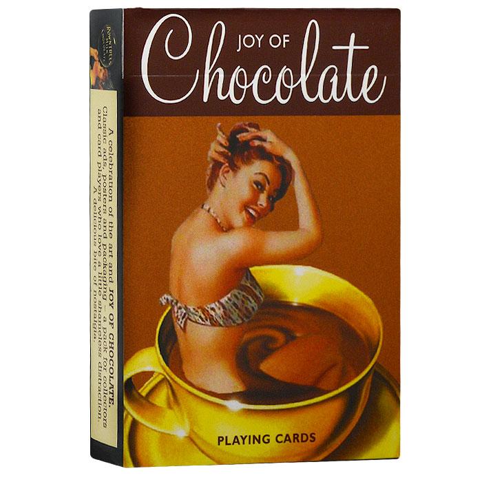 Карты игральные коллекционные Piatnik Шоколадное удовольствие, 55 карт. 13141314Коллекционные игральные карты выполнены из картона с пластиковым покрытием и оформлены постерами, посвященными шоколаду. Карты имеют стандартный индекс, гладкую поверхность и стандартный размер.