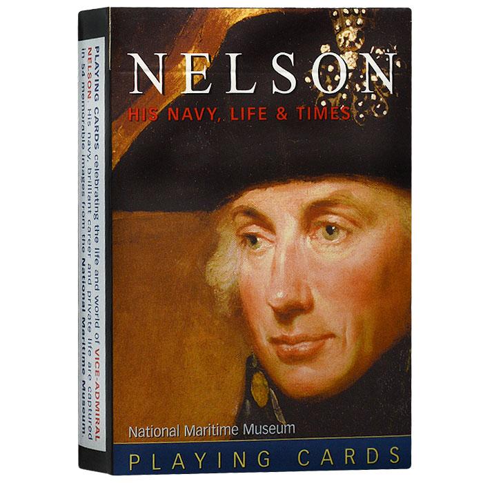 Карты игральные коллекционные Piatnik Адмирал Нельсон, 55 карт. 11541154Коллекционные игральные карты выполнены из картона с пластиковым покрытием и оформлены изображениями, посвященными Адмиралу Нельсону. Карты имеют стандартный индекс, гладкую поверхность и стандартный размер.