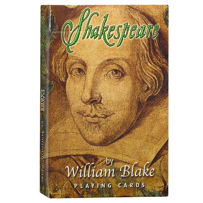 Карты игральные коллекционные Piatnik Шекспир, 55 карт. 14651465Коллекционные игральные карты выполнены из картона с пластиковым покрытием и оформлены изображениями, посвященными творчеству выдающегося английского драматурга Шекспира в исполнении художника Уильяма Блэйка. Карты имеют стандартный индекс, гладкую поверхность и стандартный размер.