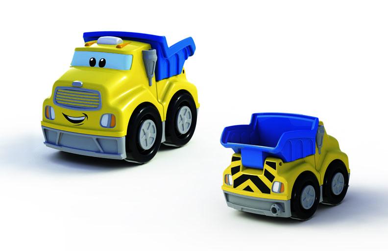Грузовая мини-машинка Тимми80402/ast80400 (80401, 80402, 80403, 80404)Все малыши любят машинки. Компания Mega Bloks создала мини-машинки для самых маленьких! Эти машинки ярко раскрашены и имеют большие детали для того, чтобы малышу удобно было держать ее. Перед вами грузовая машинка Тимми, он станет отличным товарищем для вашего малыша.