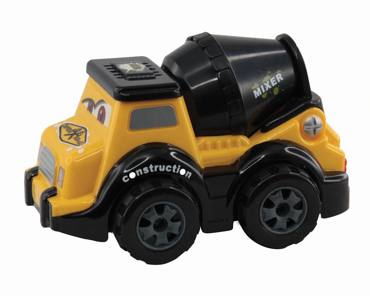 Kidztech Бетономешалка6618-879 (87091)Радиоуправляемая мини машинка-бетономешалка от компании Kidz Tech будет отличным подарком для ребенка. У бетономешалки загораются фары. С такой машинкой процесс игры будет увлекательным и ярким. Внимание! Для работы игрушки требуются батарейки: - 3 батарейки типа ААА для работы машинки ( не входят в комплект). - 1 батарейка 9V для работы пульта ( не входит в комплект).